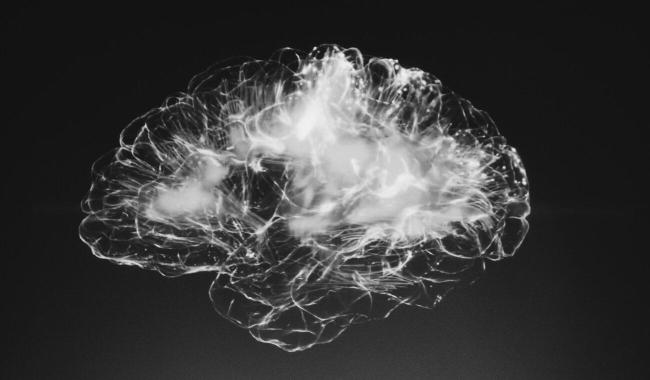 Abstract image of human brain
